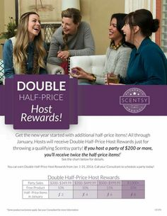 Double rewards on January,,, so what is your reason not to party?????? Contact me