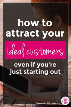Attracting your ideal customers is all about knowing who they are, where they are and what motivates them. Here's the low-down on how to use buyer personas to visualize their wants, needs & challenges (because when you can communicate the problems they have better than they can, they will automatically seek you out as having their solution!)
