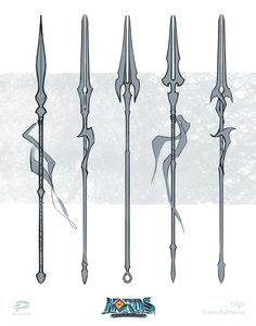 Risultati immagini per spear design Anime Weapons, Sci Fi Weapons, Weapon Concept Art, Armor Concept, Fantasy Armor, Fantasy Weapons, Fantasy Character Design, Character Art, Lance Weapon