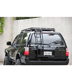 Purchase of GOBI Toyota GEN Stealth Rack includes: free wind deflector, two free removable cross bars, and free rear ladder! 1999 Toyota 4runner, Toyota 4x4, Roof Top Carrier, 4runner Off Road, Toyota Runner, Toyota Surf, 3rd Gen 4runner, Roof Rack, Land Cruiser