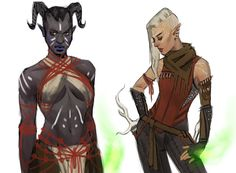 ditching solange as an inquisitor, it's up to these two now