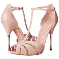 Alexander McQueen Sandal Pelle S.Cuoio (Patchouli) High Heels