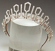 Tiara Mania: Diamond Tiara made by Chaumet: Princess Lalla Salma of Morocco; on the occasion of her 2002 marriage to King Mohammed VI of Morocco