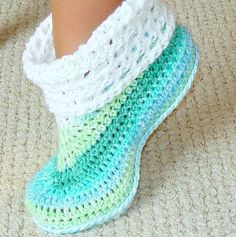 Crochet Boots For Adult free patterns - Photos, and How to Make Materials - Free Patterns