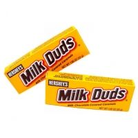 """""""Milk Duds, with their self-depreciating name and remarkably mild flavor, are the most apologetic of the boxed candies.""""  -Sheldon Cooper"""