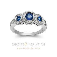 Safiri - Nakit sa safirima i dijamantima - Zlatara Diamond Spot, Beograd Sapphire, Engagement Rings, Jewelry, Fashion, Diamond, Enagement Rings, Moda, Wedding Rings, Jewlery