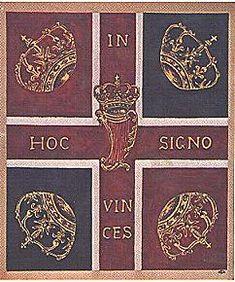 Drapeau du régiment Dillon, Brigade irlandaise de France  - French Irish brigade - In hoc signo vinces — Wikipédia