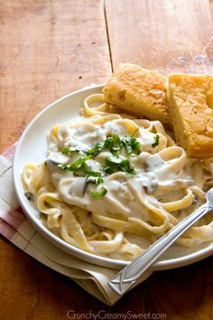 Creamy Garlic Mushroom Pasta