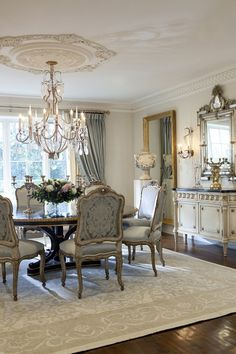 Luciani Dining Room by @ebanistacollect. Exquisite hand-crafted furnishings. Discover more at http://www.ebanista.com.