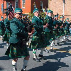Irish Pipers