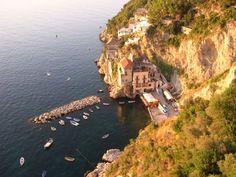 Ristorante Risorgimento sulla spiaggia di Conca dei Marini - Amalfi