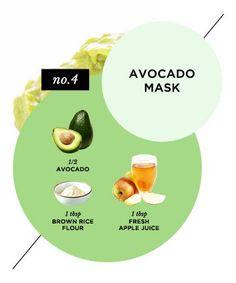 Homemade Face Mask No. 12: Skin-Restoring Avocado Mask