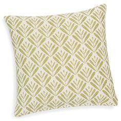 BENJARAN green cotton cushion cover 40 x 40 cm