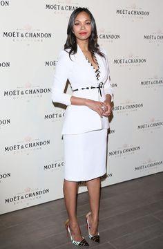 Celebrities Wearing All White   POPSUGAR Fashion