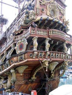 »✿❤Steampunk❤✿« Ship Built for Roman Polanski's Pirates Movie
