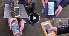 Homemade iPhone 6S Cases Drop Test - (VIDEO)