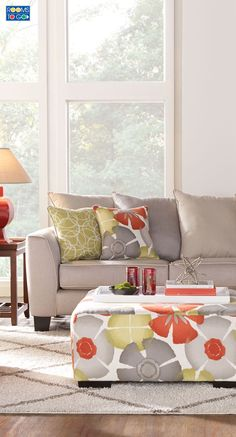 Achieve a cozy and sophisticated look in your home when you have the Redan sectional.