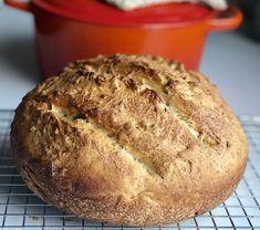 Surdeigs grytebrød av spelt med solsikkekjerner – Henriettes matblogg Food And Drink, Bread, Baking, Recipes, Bakken, Breads, Backen, Postres
