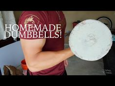 How to Make Homemade Dumbbells! I Bulk Strength Ep. 4 - YouTube