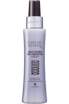 Alterna's heat protection spray. See how to use it and 9 other things to help anti-age your hair.