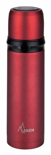 Laken Vacuum Insulated Stainless Steel Thermos Flask 17oz 0.5 Liter Red * Check out the image by visiting the link.