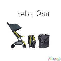 We welcome @gbchildusa to the PishPosh Baby family! We are in love with the Qbit stroller, which is super compact, has a full seat that reclines, and is compatible with the GB Asana35 car seat, Maxi Cosi Mico seats and the Cybex Aton. Just $179.99! Shop our entire GB Child collection on our site! http://www.pishposhbaby.com/gb-qbit-stroller-citrus.html
