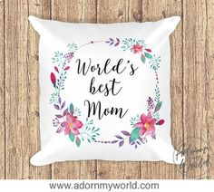 Worlds Best Mom Pil