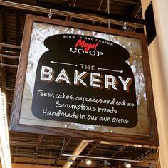 """Another """"sign of celebration"""" for the amazing Mega! Co-op #logo #signage #branding #foodbranding #foodmarketing #grocerymarketing #risingabovethenoise"""