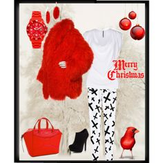 """""""Christmas Casual"""" by lbcarrillo on Polyvore"""