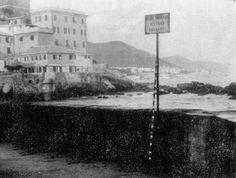 ANDRÉ CADERÉ Genova Boccadasse, maggio 1975
