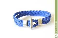 Suede Leather Braided Bracelet