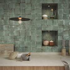 WOW Enso Kintsugi Green 12,5x12,5 płytka ścienna dekor Terradeco Küchen Design, Tile Design, House Design, Kintsugi, Bathroom Interior, Kitchen Interior, Interior Design Inspiration, Home Interior Design, Minimalist Kitchen