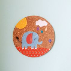 Items similar to Elephant Nursery Wall hanging, Children's / Nursery Wall Art on Etsy Elephant Nursery, Unique Jewelry, Handmade Gifts, Wall, Etsy, Fictional Characters, Vintage, Kid Craft Gifts, Craft Gifts