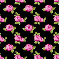Free black and pink rose floral wallpaper/ background vector - high resolution. Website is in Japanese, but easy to navigate if you use Google Chrome translation. Hundreds of gorgeous patterns and backgrounds