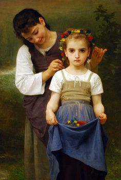 Montreal Museum of Fine Arts - William Bouguereau - Crown of Flowers | by cerdsp