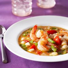 Italian Shrimp Soup