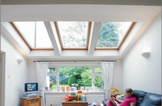 Save money on your home extension and buy your VELUX roof windows at…