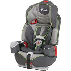 The Nautilus 3-in-1 car seat by Graco helps keep your child secure, safe and traveling in comfort. When your child is ready, it easily converts to a belt-positioning booster, then to a backless booster seat to grow with your child.