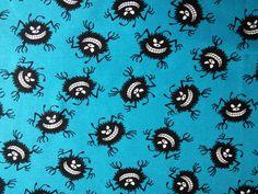 Hilco Sweat Jersey Cucos Monster petrol blau von PinkPeppa auf DaWanda.com