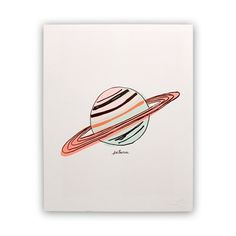 Hartland Brooklyn's print is out of this world. Each is hand illustrated and…