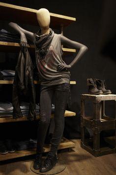 Mannequin tissu Urban Vintage collection by Cofrad Mannequins #cofradmannequins