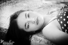 Beautiful Teen on Palm Beach, Florida  #Beauty #Girl #PalmBeach #ModelPhotography #B&W  #RebeccaEveliaPhotography