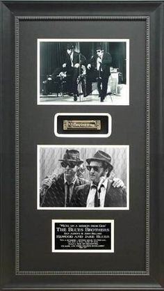 The Blues Brothers Framed Harmonica Shadow Box-18x32 by Sports on Main Street. $239.95. This is an 18x32 shadow box with 2 photos of the Blues Brothers framed with a Chicago Blues Harmonica.