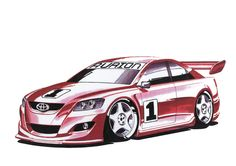 Toyota TRD Aurion Aussie Racing car Every #Friday it's #RacingFriday at #Rvinyl.com