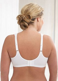 fc59695a3b Glamorise Women s Soft Shoulders Minimizer Bra  1135 at Amazon Women s  Clothing store  Minimizer Bras