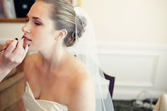 Apple-y Ever After: Becoming a Bride Diy Wedding Makeup, Non Toxic Makeup, Bride Getting Ready, Bridal Beauty, Beauty Trends, Ever After, One Shoulder Wedding Dress, How To Become, Hair Makeup