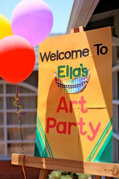 Rainbow food ideas Invite and Delight: An Art Party - Ella's 3rd Birthday