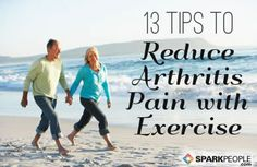 Exercise reduces joint pain and stiffness and increases flexibility, muscle strength, cardiac fitness, and endurance. via @SparkPeople