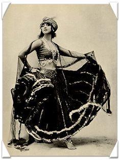 vintage baladi bellydance costume