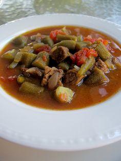My Turkish Kitchen: ETLİ BAMYA